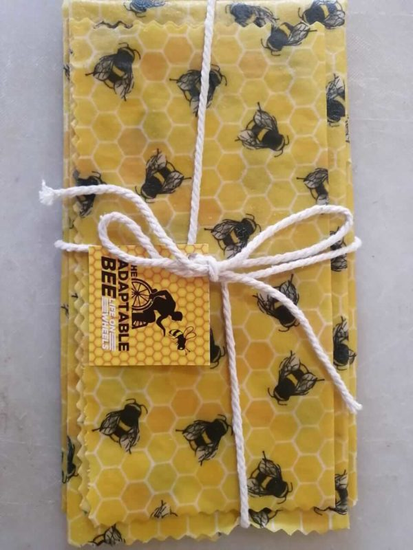 Reusable Beeswax Wraps Set | The Adaptable Bee