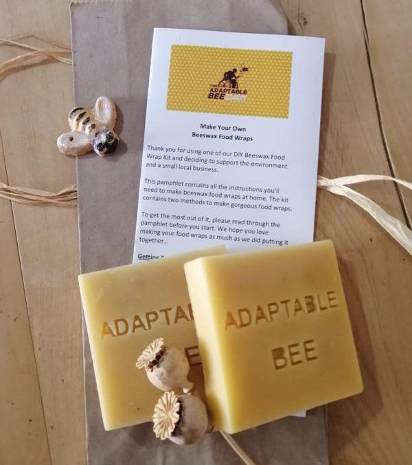 DIY Beeswax Food Wrap Kit - Twin Pack