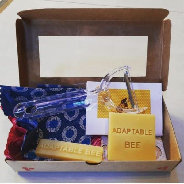 DIY Deluxe Beeswax Food Wrap Craft Kit