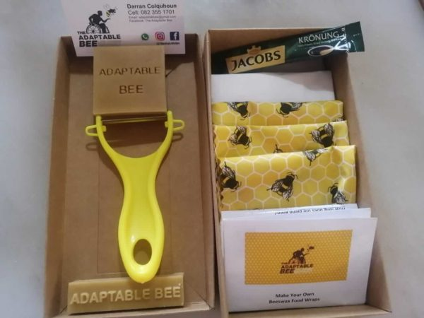 DIY Deluxe Beeswax Food Wrap Craft Kit South Africa | The Adaptable Bee