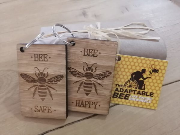 Bamboo Key Rings | The Adaptable Bee