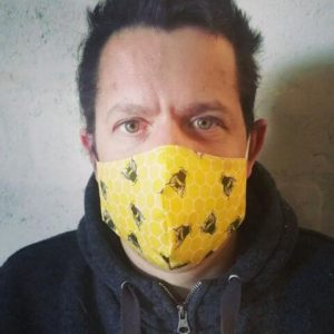 100% Cotton Bee Face Mask | The Adaptable Bee